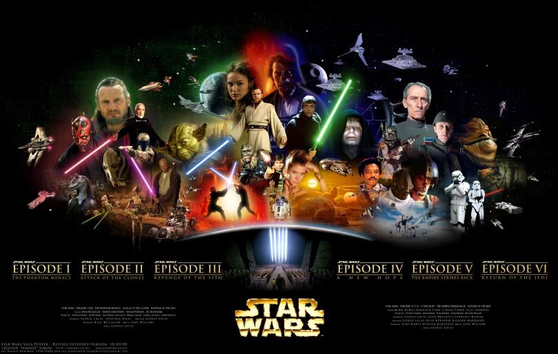 Star Wars Saga Poster by SimonZ