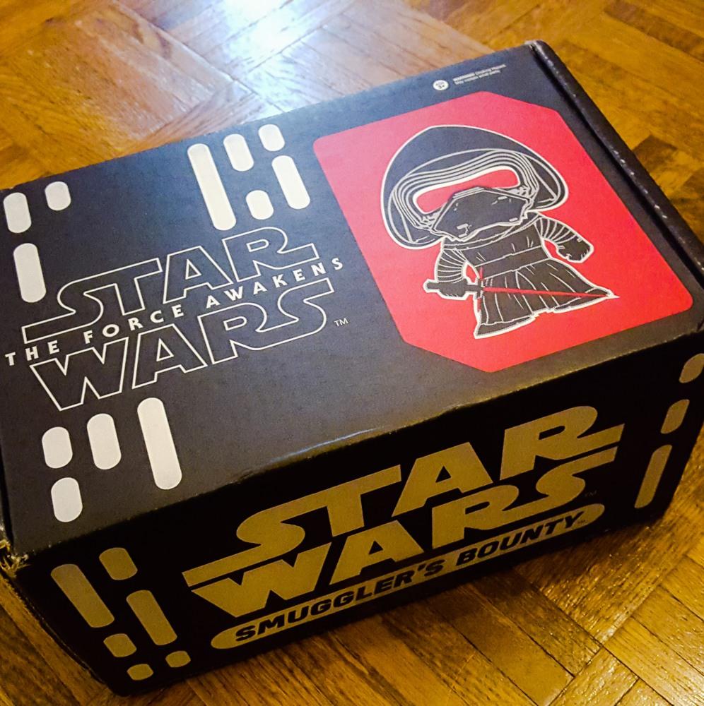 Review: Star Wars Smuggler's Bounty Premiere Box (1/5)