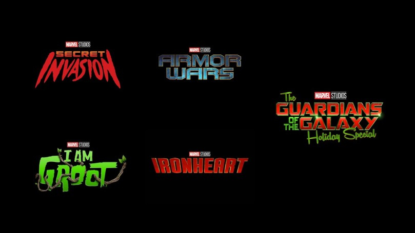 Marvel logo bundle